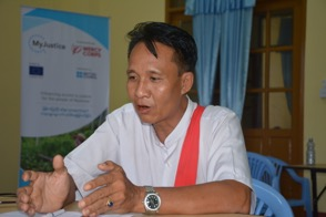 U Moe Kyaw, Ward Administrator of Ward Five, Hpa-an